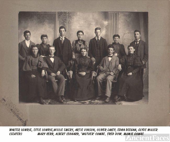 Family Photo, Fairbury Nebraska, date Unknown