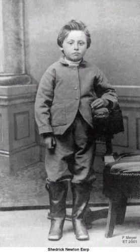 Childhood Portrait of S.N. Earp