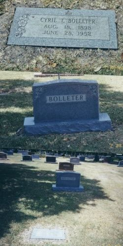 Grave Site of Bolleters