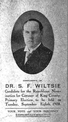 A photo of Sherald Fisher Wiltsie