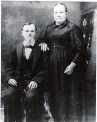 Isaiah and Clarissa Middleton Deel
