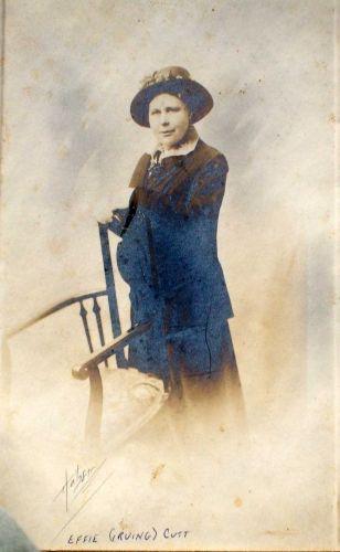 Effie Cutt (nee Irving)