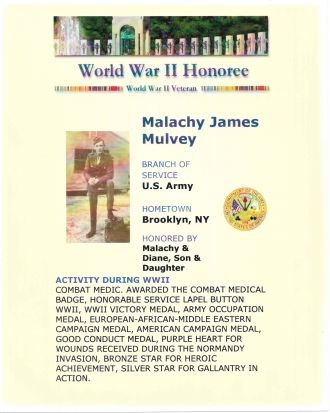Malachy J. Mulvey 1907-1964
