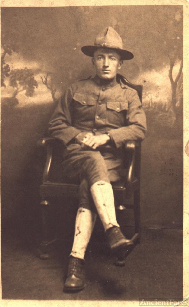 Ebbie Belton, World War I