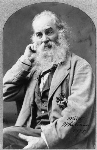 Walt Whitman, 1875