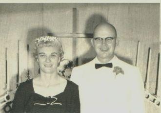 Elton and Julia Caldwell Morris, 1961