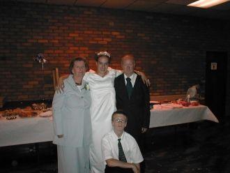john  at  girlfriends grandaughter wedding