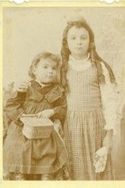 Nina Evelyn and Grace  Selina Burch
