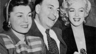 Earl Wilson, Esther Williams, Marilyn Monroe.