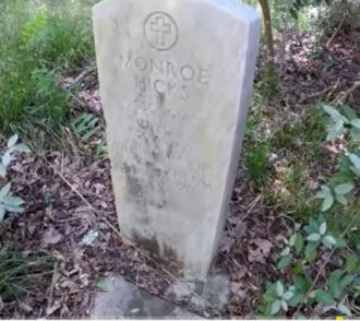 Monroe Hicks PFC WW11  b. February 20, 1914 lived and died January 28, 1971 in Muscogee, Georgia