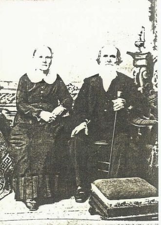 Margaret Mooney & Her Husband, Benjamin F. Frost