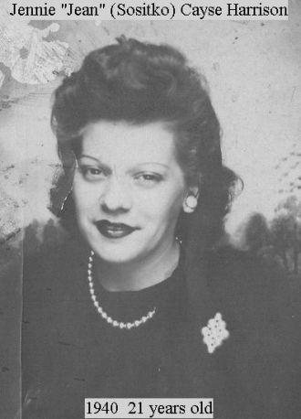 Jennie 'Jean'  Sositko