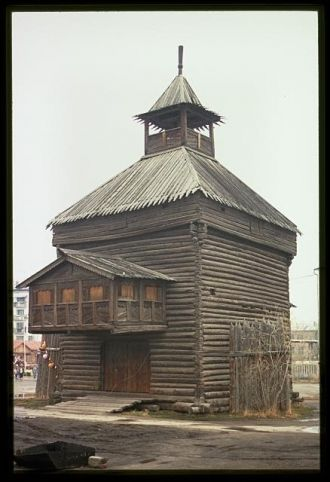 Yakutsk Fort tower, (1685), Yakutsk, Russia