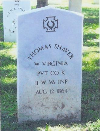 Thomas Shaver gravesite