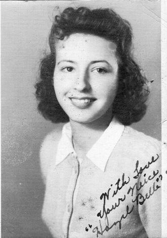 Hazel Belle Hicks