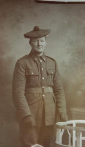 Unknown Scottish World War I Soldier