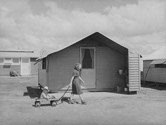 Migrant Camp Homes, Tulare CA