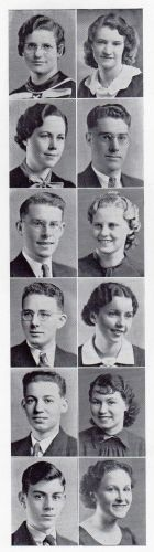 Frances Joseph & Anaconda High School, Montana 1937