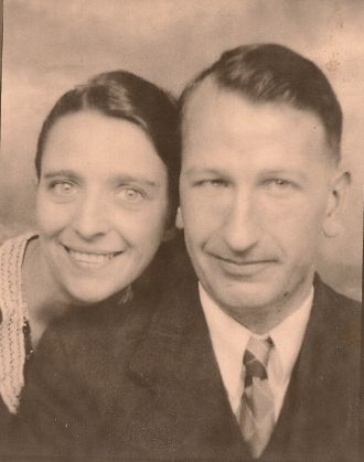 Albertine (Goulet) & Russell Brechin, Vermont 1933