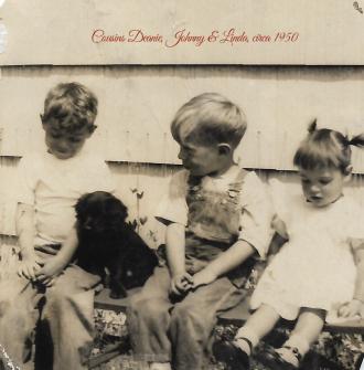 Linda Mae Kenyon and Cousins