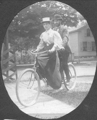 Robert and Tena Baur, Ohio 1899