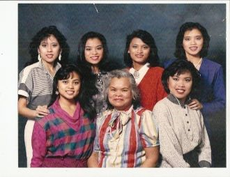 Capangpangan family, California 1986