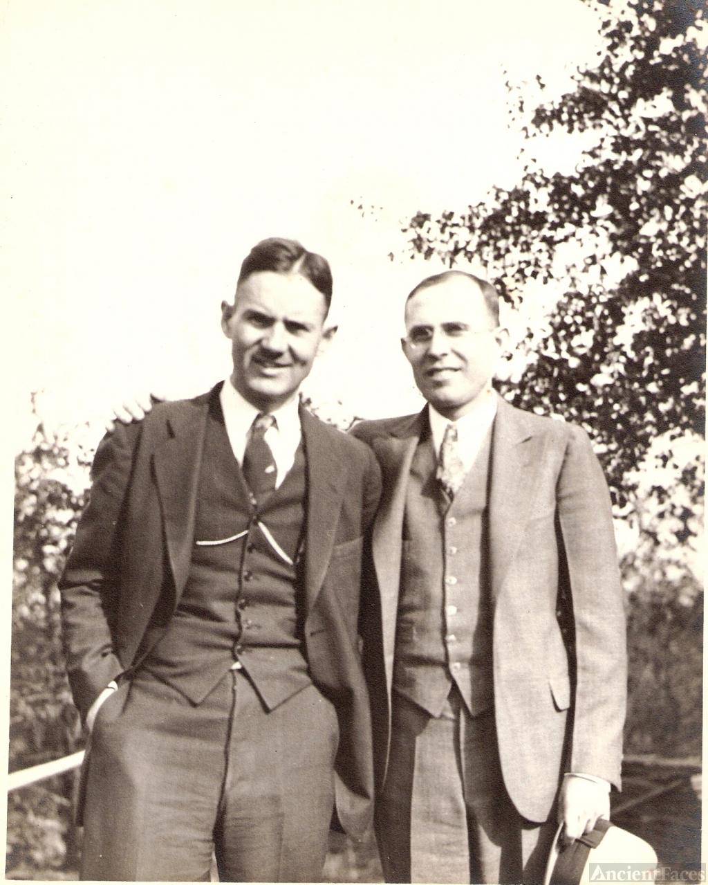 Albert Carter, Sr. & Fred Hester