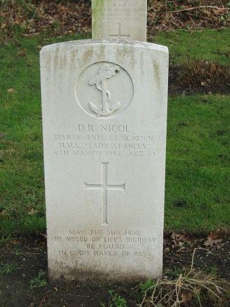 David Reeder Nicol gravesite