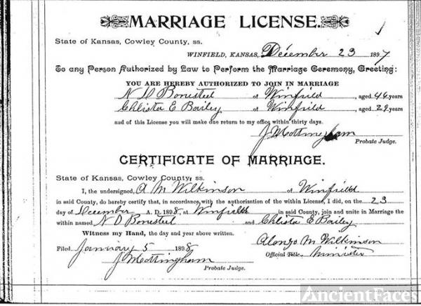 Kansas Birth Certificate Order Form