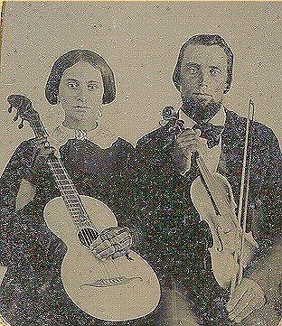 Grandpa Bernard Benedict Uhl and Magdalen Steigmeyer