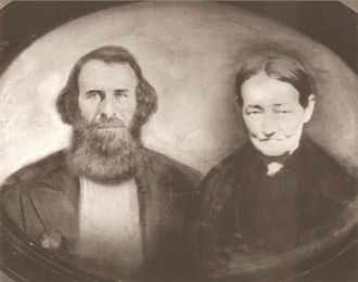 Riley & Mary Ann (Carver) Hooper