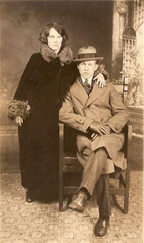 Frank and Mae Harper