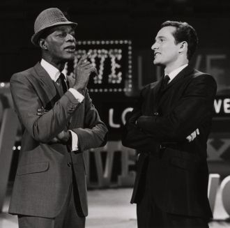 Larry Kert and Nat King Cole