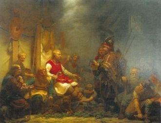 Norse legendary hero Ragnar