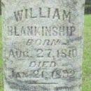 William Blankenship gravesite