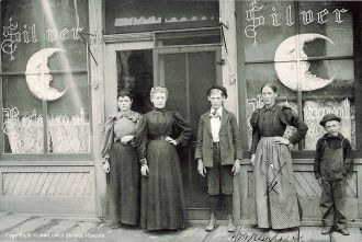 Carl, Josephine, and Halmer Swanson