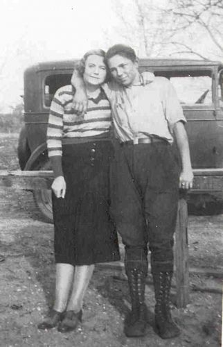 Nina Pridgen and Leo Freeman Maness
