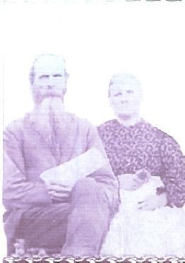 Jabez Frost and His Wife, Esther Ellen (Root) of Athens County, Ohio