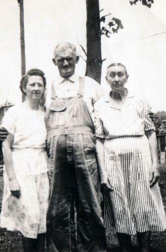 Adel Duckworth, Tom Byard, and Lydia Byard 1950