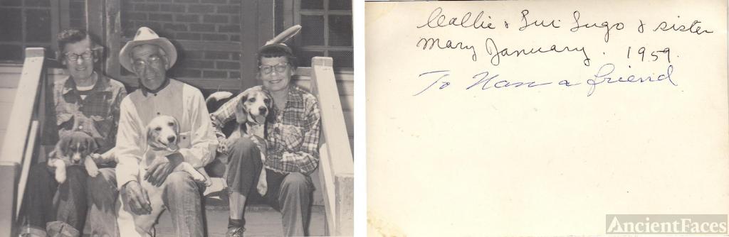 Callie Ballard, Ben, and Mary January