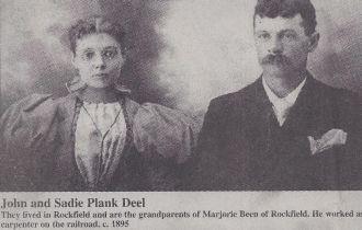 Sadie and John Evert Deel