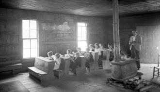 Little Greenbrier School, 1936