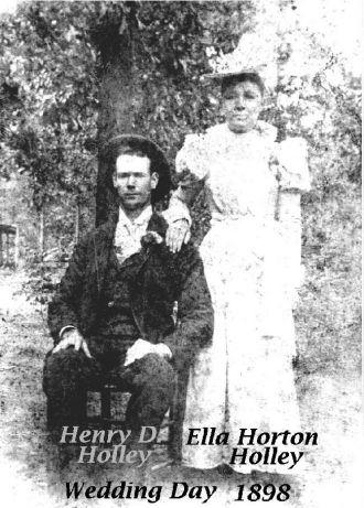 Henry D. & Ella Holley Wedding