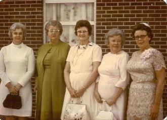 The Carmine Sisters, 1973 Virginia
