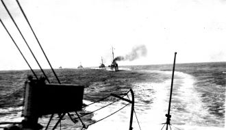 Convoy of Navy ships