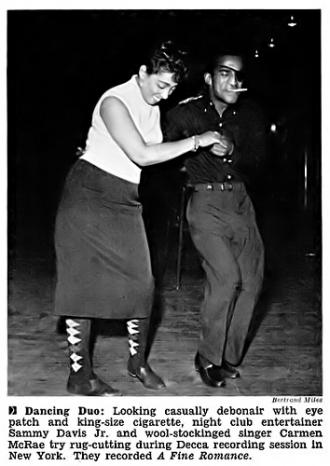 Carmen Mcrae & Sammy Davis