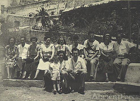 Connie Benning Barrett and Heine Barrett in Cuba