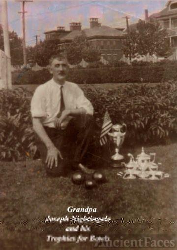 Grandpa Joe and his Trophies