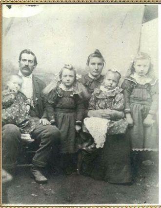 Charley & Margaret (Orr) Nichols Family, Arkansas