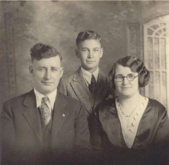 William Ulysses Cornwell family ca 1930
